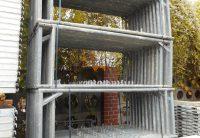 Cadres echafaudage facade hunnebeck bosta 70 occasion