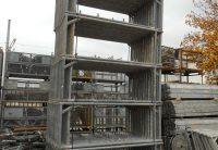 Cadre acier echafaudage occasion pour facade hünnebeck