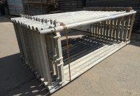 Cadre acier Rux echafaudage facade