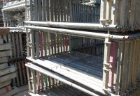 Cadre vertical occasion echafaudage facade rux