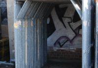 Cadre passage-pièton d'occasion pour échafaudage de facade hünnebeck